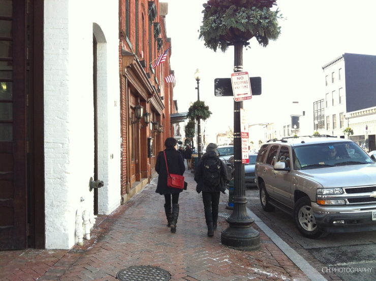 Lost in Georgetown